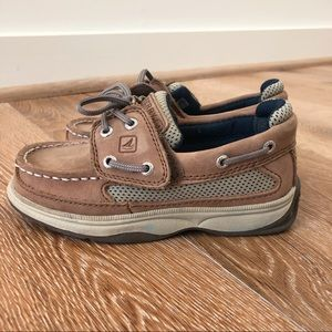 Sperry Little Boy's Boat shoe in 10